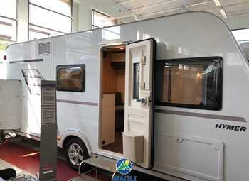 Eriba Hymer Living 525 Camper  Roulotte Nuovo