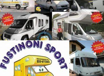 Foto Mobilvetta Camper Usati  Fustinoni - Bergamo- Camper  Mansardato Usato