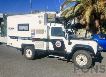 Others-andere Land Rover Defender 300 Tdi Camper Camper  Puro Usato