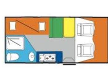 Joint Serie X 320 Camper  Mansardato Usato