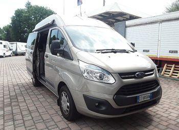 Ford Transit Custom 8 Posti L1h2 Camperizzato Camper  Puro Usato