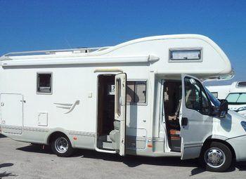 Foto Arca Camper M 720 Glm Con Gran Garage Camper  Mansardato Usato
