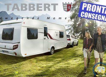 Tabbert Caravan Rossini Camp  -caravan Stanziale 5 Posti Camper  Roulotte Nuovo