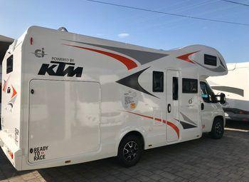 Foto Caravans International Horon 90 M Camper  Mansardato Nuovo
