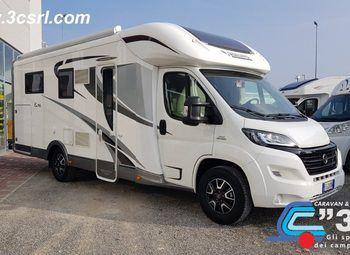 Mobilvetta Kea P 65 - Gemelli Garage Camper  Parzialmente Integrato Usato