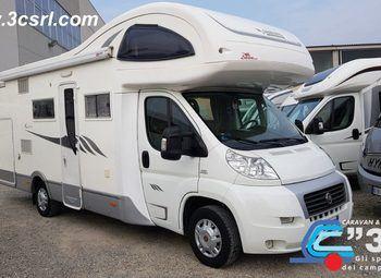 Foto Mobilvetta Kea M 74 Garage Camper  Mansardato Usato