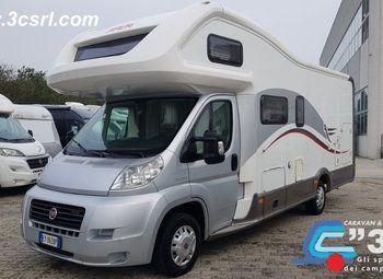 Foto Arca Camper M 725 Glm Garage Camper  Mansardato Usato