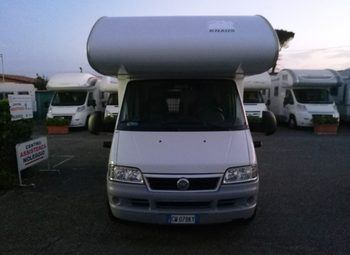 Knaus Sun Traveller 658 Dkg Camper  Mansardato Usato
