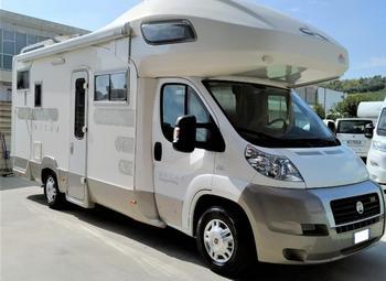 Caravans International Mizar Garage Living Camper  Mansardato Usato