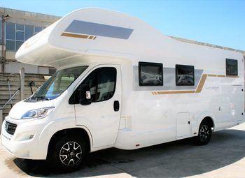 Foto Caravans International Horon 84m-2020 Camper  Mansardato Nuovo