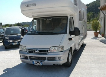 Mobilvetta Icaro S12 Camper  Mansardato Usato