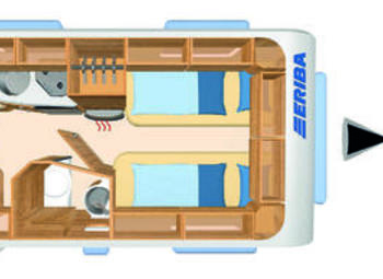 Eriba Hymer Feeling 470 Camper  Roulotte Nuovo