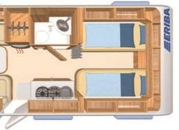 Eriba Hymer Exciting 471 Camper  Roulotte Nuovo