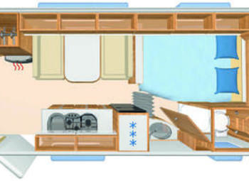 Eriba Hymer Exciting 505 Family Camper  Roulotte Nuovo