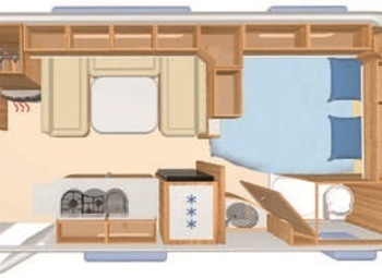 Eriba Hymer Exciting 560 Family Camper  Roulotte Nuovo