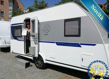 450fusport2020silverselectioncaravan4p Camper  Roulotte Nuovo