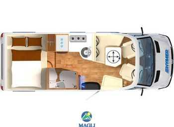 Foto Hymer B-klasse Modern Comfort T 550 Camper  Parzialmente Integrato Nuovo