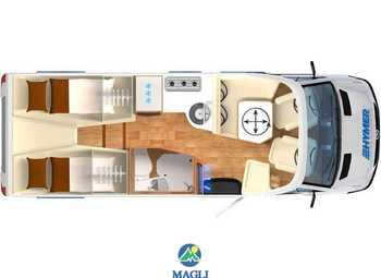 Foto Hymer B-klasse Modern Comfort T 600 Camper  Parzialmente Integrato Nuovo