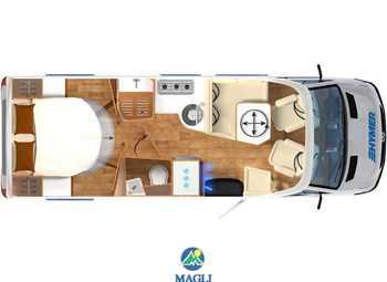 Foto Hymer B-klasse Modern Comfort T 690 Camper  Parzialmente Integrato Nuovo