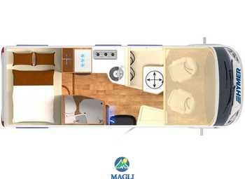 Foto Hymer B-klasse Modern Comfort I 550 Camper  Motorhome Nuovo