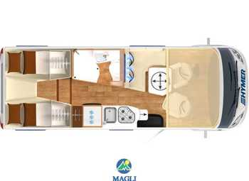 Foto Hymer B-klasse Modern Comfort I 580 Camper  Motorhome Nuovo