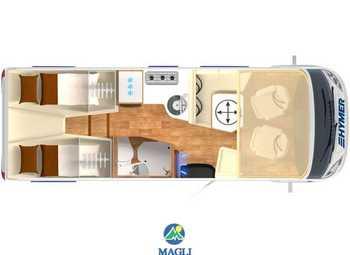 Foto Hymer B-klasse Modern Comfort I 600 Camper  Motorhome Nuovo