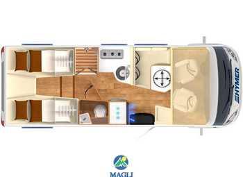 Foto Hymer B-klasse Modern Comfort I 680 Camper  Motorhome Nuovo