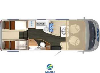 Foto Hymer B-klasse Supreme Line 2020 674 Camper  Motorhome Nuovo
