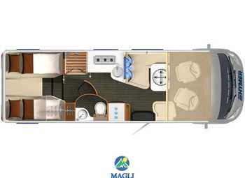 Foto Hymer B-klasse Supreme Line 2020 704 Camper  Motorhome Nuovo