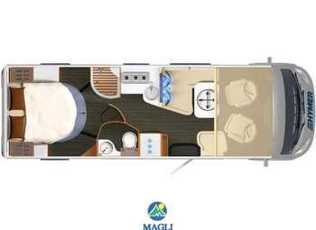 Foto Hymer B-klasse Supreme Line 2020 708 Camper  Motorhome Nuovo