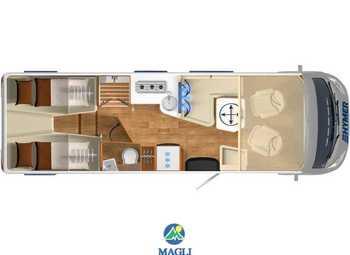 Foto Hymer B-klasse Master Line 780 Camper  Motorhome Nuovo