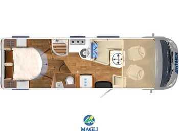 Foto Hymer B-klasse Master Line 790 Camper  Motorhome Nuovo