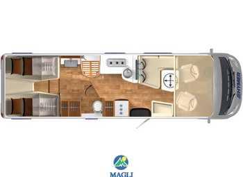 Foto Hymer B-klasse Master Line 880 Camper  Motorhome Nuovo