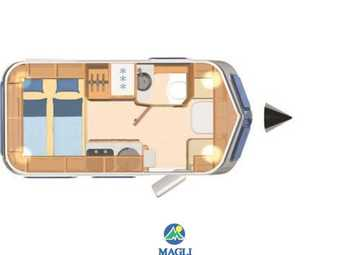 Foto Eriba Hymer Touring Troll 535 Camper  Roulotte Nuovo
