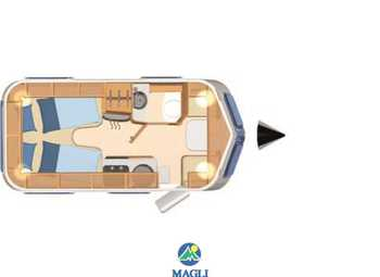 Foto Eriba Hymer Touring Troll 542 Camper  Roulotte Nuovo