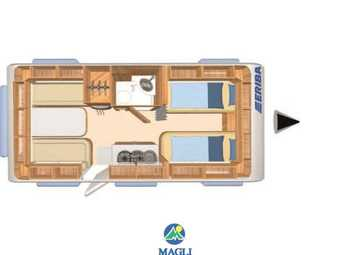 Foto Eriba Hymer Exciting 471 Camper  Roulotte Nuovo