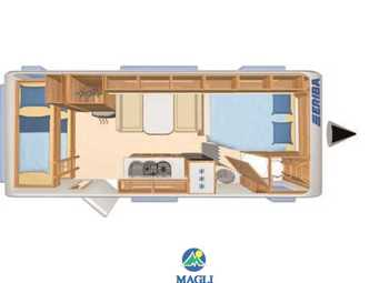 Foto Eriba Hymer Exciting 505 Family Camper  Roulotte Nuovo