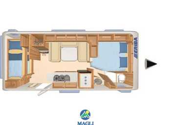 Foto Eriba Hymer Exciting 560 Family Camper  Roulotte Nuovo