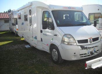 Caravans International Riviera 85p Camper  Parzialmente Integrato Usato