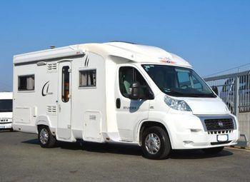 Caravans International Ci Riviera 55p Semintegrale Letto Francese Camper  Parzialmente Integrato Usato