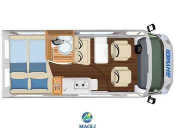 Foto Hymer Van 2020 Ayers Rock Camper  Puro Nuovo