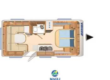 Eriba Hymer Exciting 470 Camper  Roulotte Nuovo