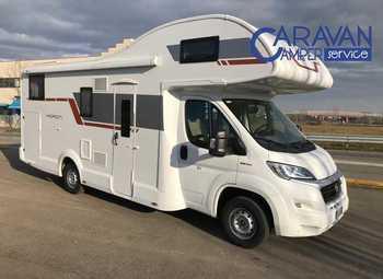 Caravans International Horon 84 M Camper  Mansardato Usato