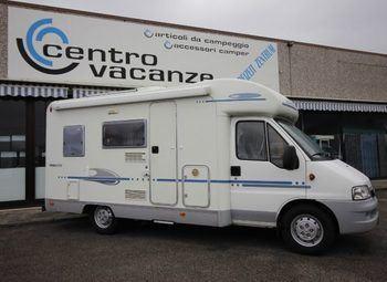 Adria Italia Serie 70  573 Ds Camper  Parzialmente Integrato Usato