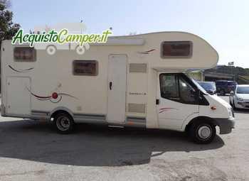 Challenger Genesis Mansardati Genesis 47 Solo 36000 Km Camper  Mansardato Usato