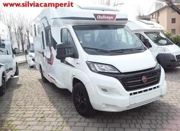 Foto Challenger 250 Vip Gamma 2020 Tutto Living Garage Camper  Parzialmente Integrato Nuovo