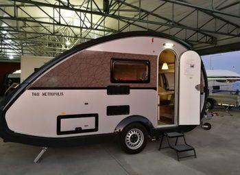 Tabbert Caravan T@b  L 400 Td Caravan  Nuova 3 P Minicaravan Camper  Roulotte Nuovo
