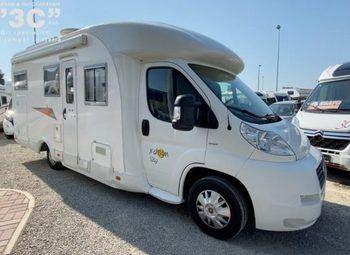 Dreamer 526 Garage Camper  Parzialmente Integrato Usato