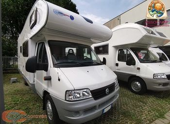 Blu Camp Fly 400 Camper  Mansardato Usato