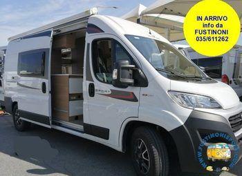 Roller Team Livingstone  5 Sport Prestige Usato Gancio+viesa Camper  Puro Usato